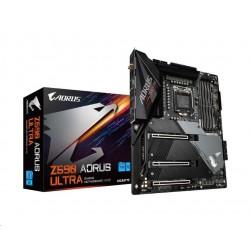 GIGABYTE MB Sc LGA1200 Z590 AORUS ULTRA, Intel Z590, 4xDDR4, 1xDP,...