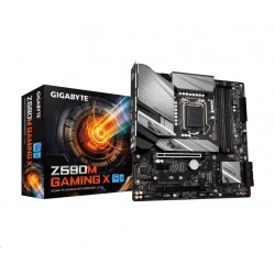 GIGABYTE MB Sc LGA1200 Z590M GAMING X, Intel Z590, 4xDDR4, 1xDP,...