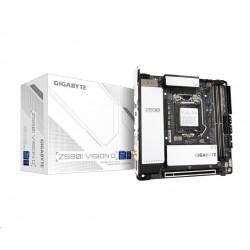 GIGABYTE MB Sc LGA1200 Z590I VISION D, Intel Z590, 2xDDR4, 1xDP,...