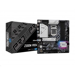 ASRock MB Sc LGA1200 Z590M PRO4, Intel Z590, 4xDDR4, 1xDP, 1xHDMI,...