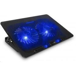 CONNECT IT chladicí podložka pod notebook FrostBreeze, černá...