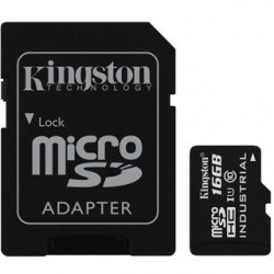 KINGSTON Micro SDHC INDUSTRIAL 16GB UHS-I + Adap SDCIT/16GB
