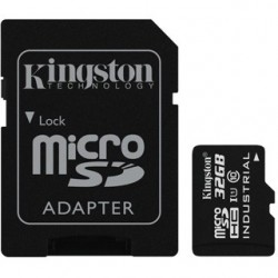 KINGSTON Micro SDHC INDUSTRIAL 32GB UHS-I + Adap SDCIT/32GB