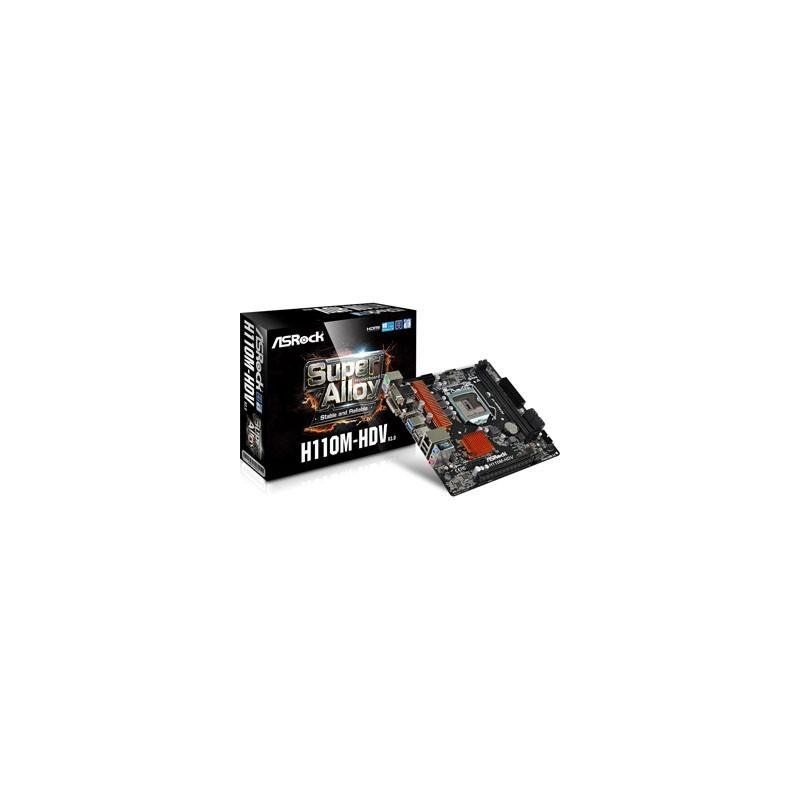 ASROCK Základná doska H110M-HDV R3.0