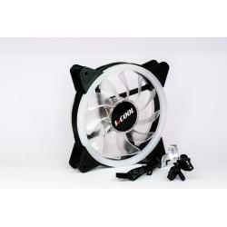 1stCOOL Fan AURA EVO Dual Ring ARGB ventilátor 12cm F12-AURA-EVO-DR