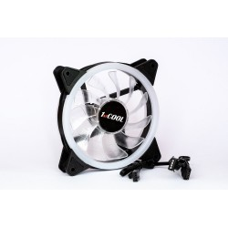 1stCOOL Fan REGULAR EVO RGB Double RING 12cm ventilátor 4pin/12V...