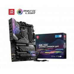 MSI MB Sc LGA1200 MPG Z590 GAMING CARBON WIFI, Intel Z590, 4xDDR4,...