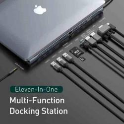 Baseus Enjoyment Series dock USB-C (USB-C PD, 3*USB 3.0, 2*4KHDMI,...
