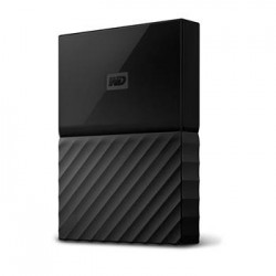 "WD My Passport 4TB Ext, 2,5"" USB3.0, BLACK WDBYFT0040BBK-WESN"
