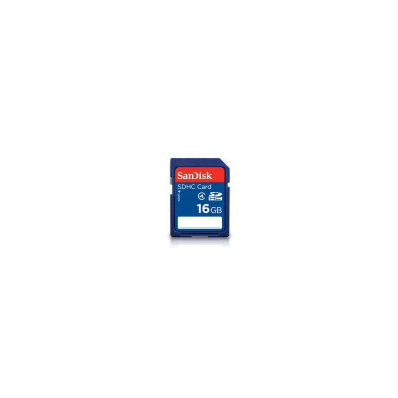 SanDisk SDHC card 16GB Class 4 SDSDB-016G-B35