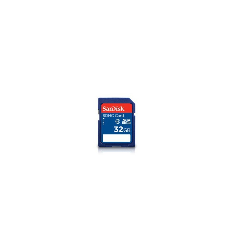 SanDisk SDHC card 32GB CL4 SDSDB-032G-B35