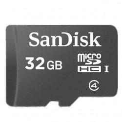 SanDisk Micro SDHC card 32GB CL4 SDSDQM-032G-B35