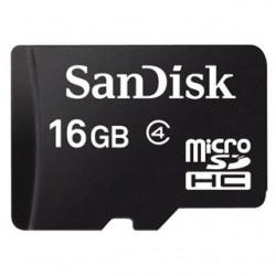 SanDisk Micro SDHC card 16GB CL4 SDSDQM-016G-B35