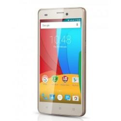 "Prestigio Multiphone Muze A5 5"" IPS 1280x720 1/8GB 1.2GHz 2000mAh CAM 2/8Mpx Android 5.1 DUAL SIM ZLATY PSP5502DUOGOLD"
