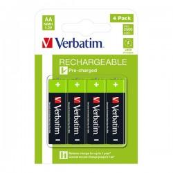 Nabíjacia batéria, AA (HR6), 1.2V, 2500 mAh, Verbatim, blister,...