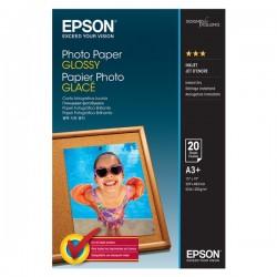 Epson Photo Paper Glossy, foto papier, lesklý, biely, A3+, 200...
