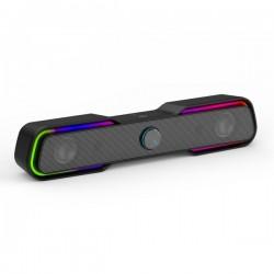 HP DHS-6002, 2.0, 6W, čierny, regulácia hlasitosti, stolový, 3,5 mm...