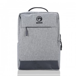"""Batoh na notebook 15.6"""", BA-03, šedý z nylónu, USB port pre..."""