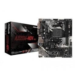 Asrock A320M-HDV R4.0, AMD A320M, 2xDDR4, HDMI, D-SUB, DP, Lan,...