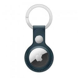 AirTag Leather Key Ring - Baltic Blue MHJ23ZM/A