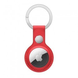 AirTag Leather Key Ring - (PRODUCT)RED MK103ZM/A