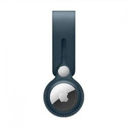 Apple AirTag Leather Loop - Baltic Blue MM043ZM/A