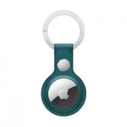 Apple AirTag Leather Key Ring - Forest Green MM073ZM/A