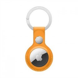 Apple AirTag Leather Key Ring - California Poppy MM083ZM/A