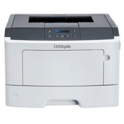 Lexmark MS417dn, mono laser, 1200dpi, 38ppm, 256MB, 800MHz, USB,Duplex,GLan,PP 35SC280