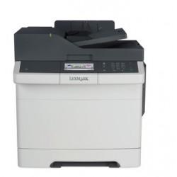 Lexmark CX417de, color laser MFP, 4800,30/30ppm,512MB, 800MHz, USB, Duplex, GLan, Fax 28DC561