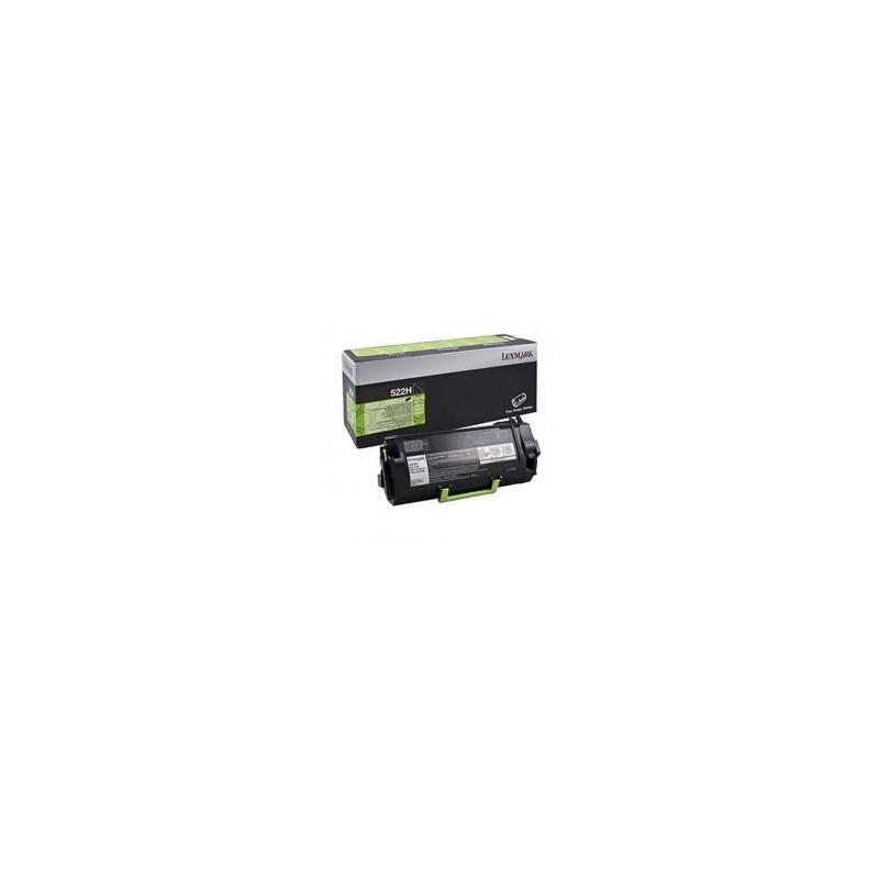 MS/MX4/5/61x Black Toner Cartridge High Return - 8 500 stran 51B2H00