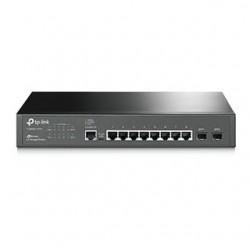 TP-Link Switch 8-Port/1000Mbps/MAN/Rack/SFP T2500G-10TS(TL-SG3210)