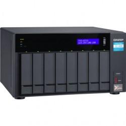 QNAP TVS-872X-i3-8G NAS Server 8xHDD 8GB
