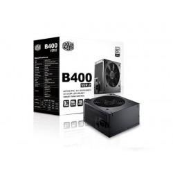 CoolerMaster B series 400W PFC v2.3, 12cm fan, 85 Plus čierny, bez nap. kábla RS400-ACABB1-BU