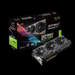 ASUS ROG-STRIX-GTX1080-O8G-11GBPS 8GB/256-bit, GDDR5X, DVI, 2xHDMI, 2xDP 90YV09M4-M0NM00