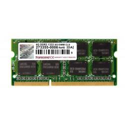 Transcend 4GB 1333MHz DDR3 CL9 SODIMM TS512MSK64V3N