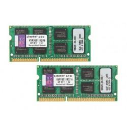 Kingston 16GB (Kit 2x8GB) 1600MHz DDR3 CL11 SODIMM KVR16S11K2/16