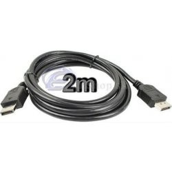 DisplayPort prepojovaci kabel 2m kport1-02