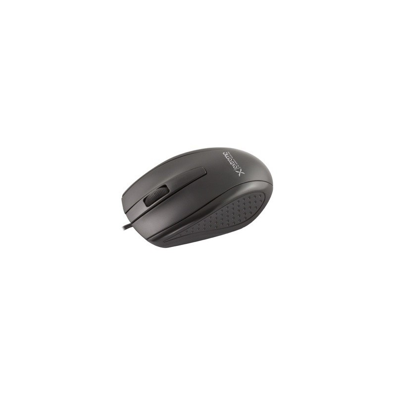 Extreme XM110K BUNGEE 3D optická myš, 1000 DPI, USB, čierna XM110K - 5901299903407