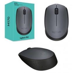 Počítačová myš Logitech Wireless Mouse M170 GREY, sivá 910-004642