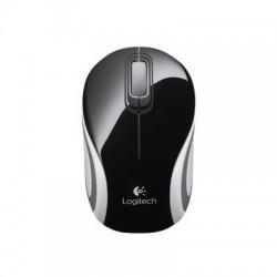 Logitech Počítačová mini myš bezdrôtová M187, čierna 910-002731