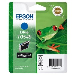 Epson originál ink C13T054940, blue, 400str., 13ml, Epson Stylus Photo R800, R1800 C13T05494010