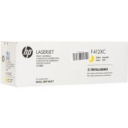 HP originál toner CF412XC, yellow, 5000str., HP Color LaserJet Pro M452dn,nw, MFP M477fdn,fdw,fnw, kontraktový produkt