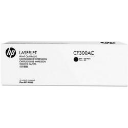 HP originál toner CF300AC, black, 29500str., 827A, HP Color LaserJet MFP M880z, 850g, kontraktový produkt