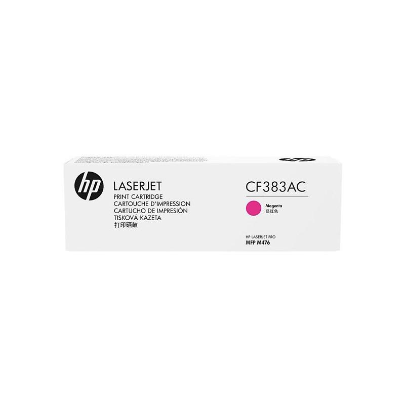 HP originál toner CF383AC, magenta, 312A, HP Color LaserJet Pro MFP M476dn, MFP M476dw, MFP M47, kontraktový produkt