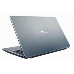 """ASUS X541NA-GQ210T N4200 15.6"""" HD matny UMA 4GB 1TB WL DVD/RW Cam Win10 strieborny"""