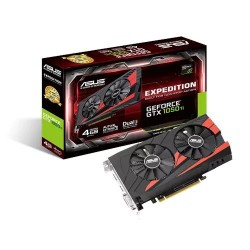 ASUS EX-GTX1050TI-4G 4GB/128-bit GDDR5, DVI, HDMI, DP 90YV0A52-M0NA00