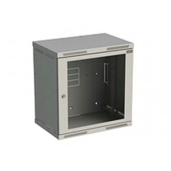Rozvaděč nástěnný SENSA 12U 400mm, dveře sklo, RAL 7035,...