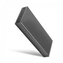 AXAGON EEM2-XR, USB-C 3.2 Gen 2 - M.2 NVMe SSD kovový RADIATOR box...