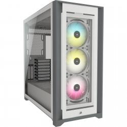 CORSAIR iCUE 5000X RGB TG mid-tower, bílá CC-9011213-WW